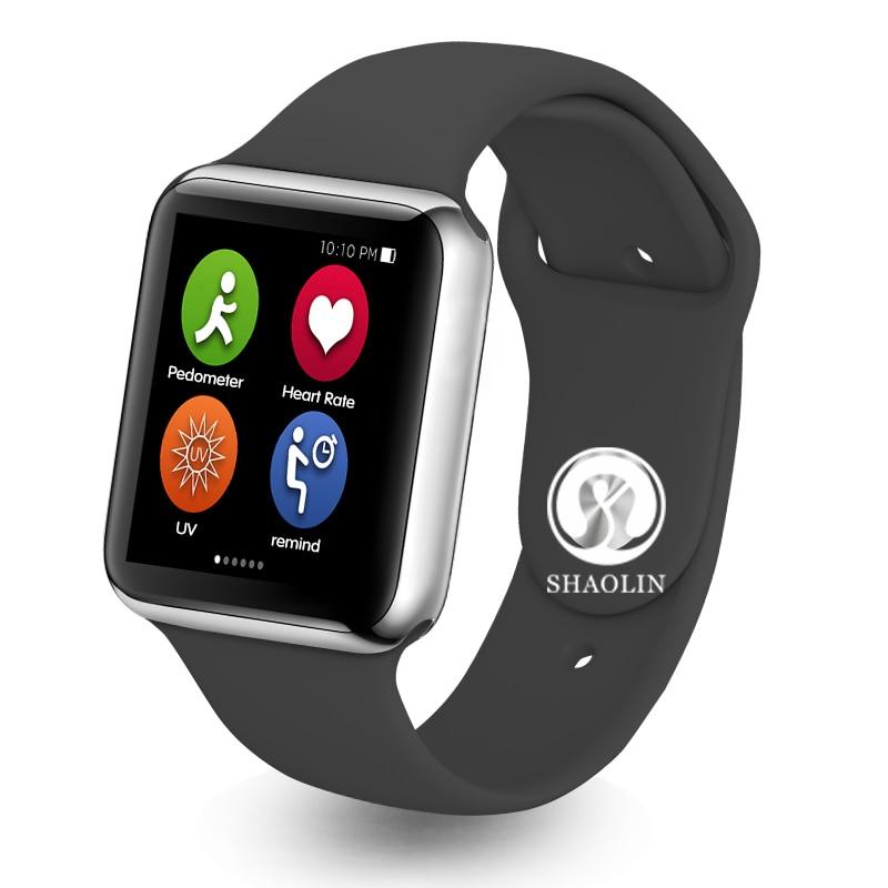 Bluetooth montre intelligente série 4 étui pour apple iphone 6 7 8 X xiaomi téléphone android smartwatch pk apple Watch série 4 GT88 DZ09-in Montres connectées from Electronique    1