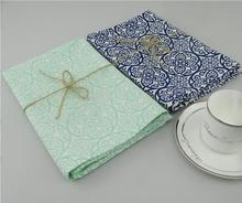 Eco-friendly Cotton Tea Towel Placemat Pads Dining Table Mats Heat Resistant Baking Pad Coaster Table Decoration Kitchen wares