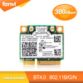 Para Intel 7260HMW BN Sem Fio-7260 N 802.11 n 300 Mbps Wireless wifi bluetooth 4.0 cartão mini pcie para ibm lenovo thinkpad 04W3815
