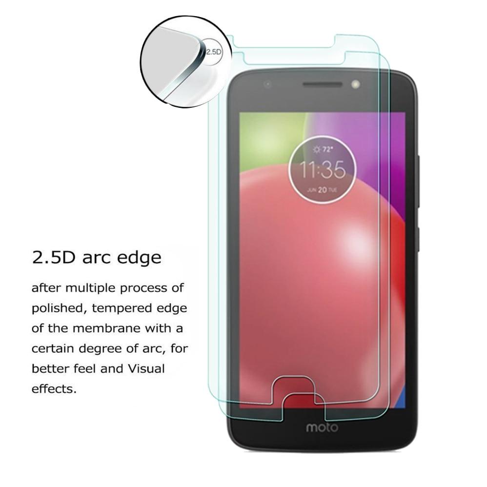 Motorola Moto E4 E4 Artı 4th Gen 0.3mm 2.5D 9 H Temizle Premium - Cep Telefonu Yedek Parça ve Aksesuarları - Fotoğraf 2
