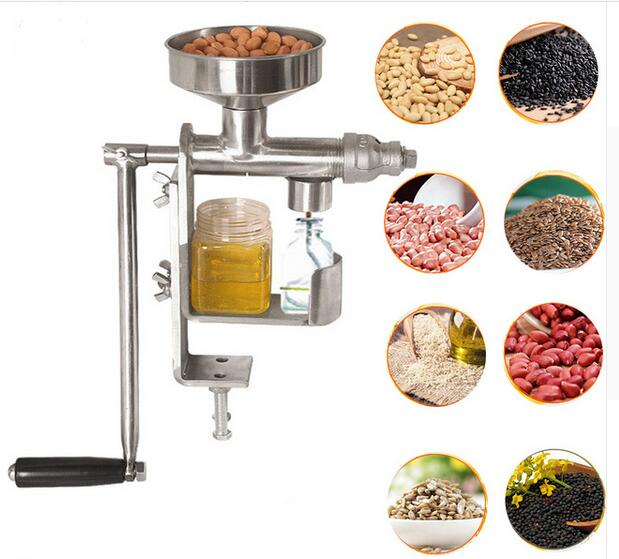 Manual Oil Press Peanut Nuts Seeds Oil Press Hand squeeze Oil Presser oil extraction maker Extraction PresserManual Oil Press Peanut Nuts Seeds Oil Press Hand squeeze Oil Presser oil extraction maker Extraction Presser