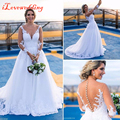 Elegant White Mermaid Long Bridal Gowns with Sleeve Tulle with Applique Botton Back Court Train Wedding Dresses Bridal Dresses