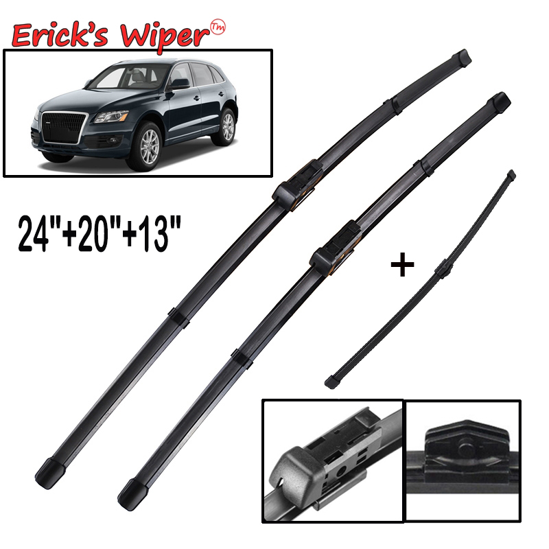 Erick's LHD Wiper Front Rear Wiper Blades Set For Audi Q5