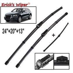 Erick's Wiper LHD Front & Rear Wiper Blades Set For Audi Q5 2008 - 2016 2017 Windshield Windscreen Window 24