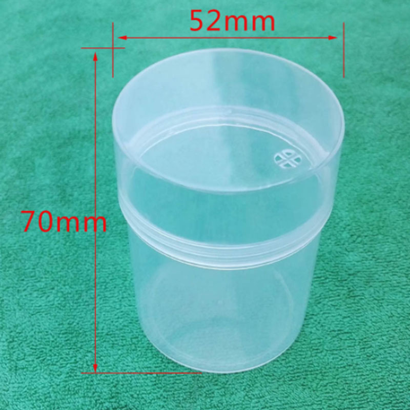 Storage Box Clear PP Plastic Gift Case For Jewelry Gourd puff Toothpick Cotton Swab 5PCS