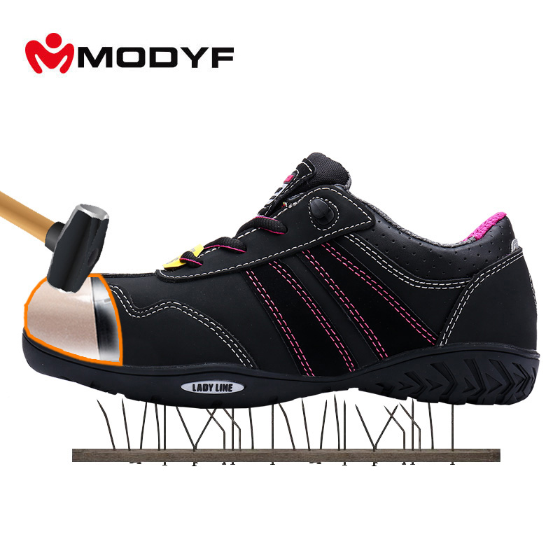 Discount Tire App >> Modyf women's outdoor boots low cut sneaker steel toe safety shoes dielectric design tire ...