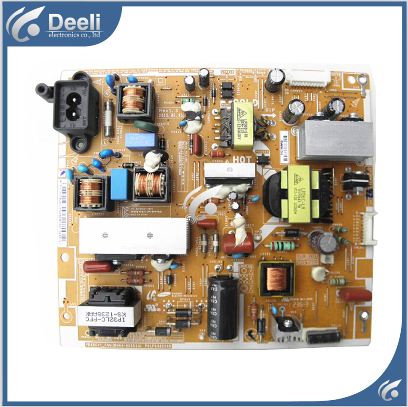 good Working original used for power supply board BN44-00552A PSLF930C04D PD46CV1_CSM 95% new used board good working original for power supply board la40b530p7r la40b550k1f bn44 00264a h40f1 9ss board