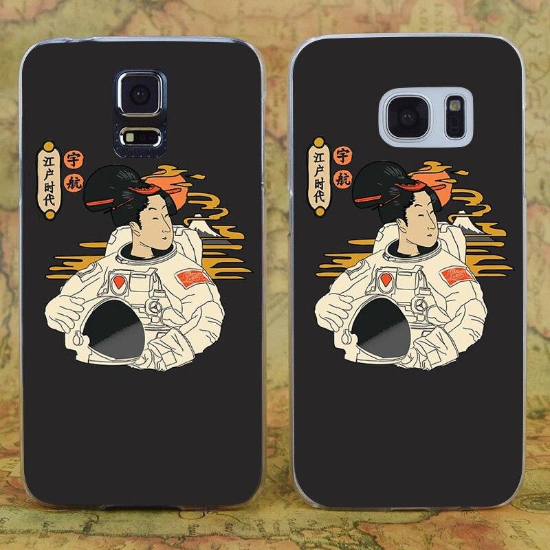 E3619 Great Era Of Edo Transparent Hard PC Case Cover For Samsung Galaxy Note 3 4 5 7 S 3 4 5 6 7 Mini Edge Plus