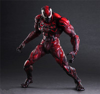 PLAY ARTS 27cm red Venom Action Figure Model Toys
