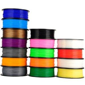 Image 2 - 10 個 1.75 ミリメートル 1 キログラム/ピース 0.5 キログラム/ピース固体 PLA ABS フィラメント 3D プリンタ 3D ペンフィラメント材料送料関税米国/RU/EU