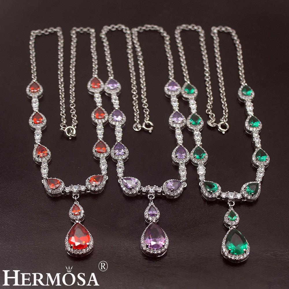 Hermosa ювелирные изделия супер девушки чокер серебряного цвета