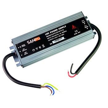 Ультра тонкий IP67 Водонепроницаемый Светодиодные ленты Питание AC 110 В 220 В к DC 12 В 24 В 60 Вт 100 вт 120 Вт 150 Вт 200 Вт 250 Вт 300 Вт Мощность адаптер