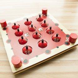 خشبية لعبة الذاكرة التطور الفكري للأطفال التعليم المبكر ألعاب التفاعلية عبة تدريب الاطفال متعة الطاوله