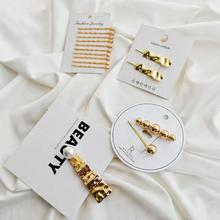 Ins Fashion 1/10pcs Set Women Girls Elegant Pearls Wave Hair Clips Sweet Ornaments Hairpins Barrettes Accessories