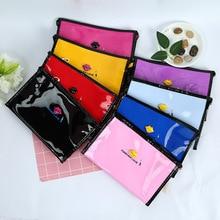 Fashion Lip Handbag Cosmetic Bag Makeup PU Leather Toiletry for Women Travel Organizer