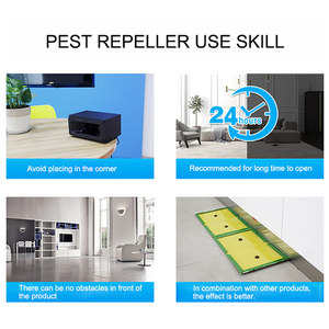 Image 5 - חדש 2019 חזק אלקטרוני אולטרסאונד עכבר רוצח עכברים מקק מלכודת יתושים הדברה Repeller חרקים חולדות עכבישים שליטה