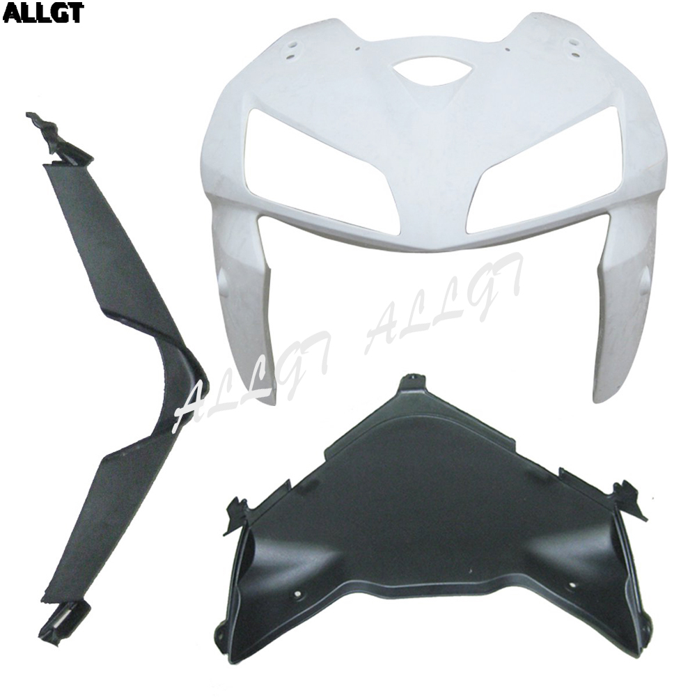 Motorcycle Front Upper Cowl Nose and Upper Fairing Splash Guard Fairing cowl kit for Honda CBR 600 RR 2005 2006 freeshipping motorcycle parts head cowling front upper fairing stay bracket for honda cbr 600 f4 f4i 1999 2006