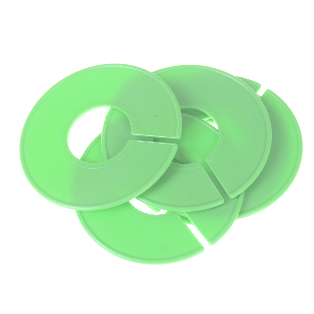5pcs Plastic Dividers Clothing Rack Round Ring Size Dividers Fits Round Or Square Tube Garment Tags Size Marking Ring 35mm Punctual Timing