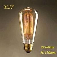 lightinbox LED Bulb E27 Antique Retro Vintage 220V 40W Edison Incandescent Tungsten Lamp Light MT13