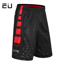 EU Mens Plus Size Basketball Shorts Summer Breathable Quick Dry Basketball Shorts with Pocket Men Running Training Sport Shorts