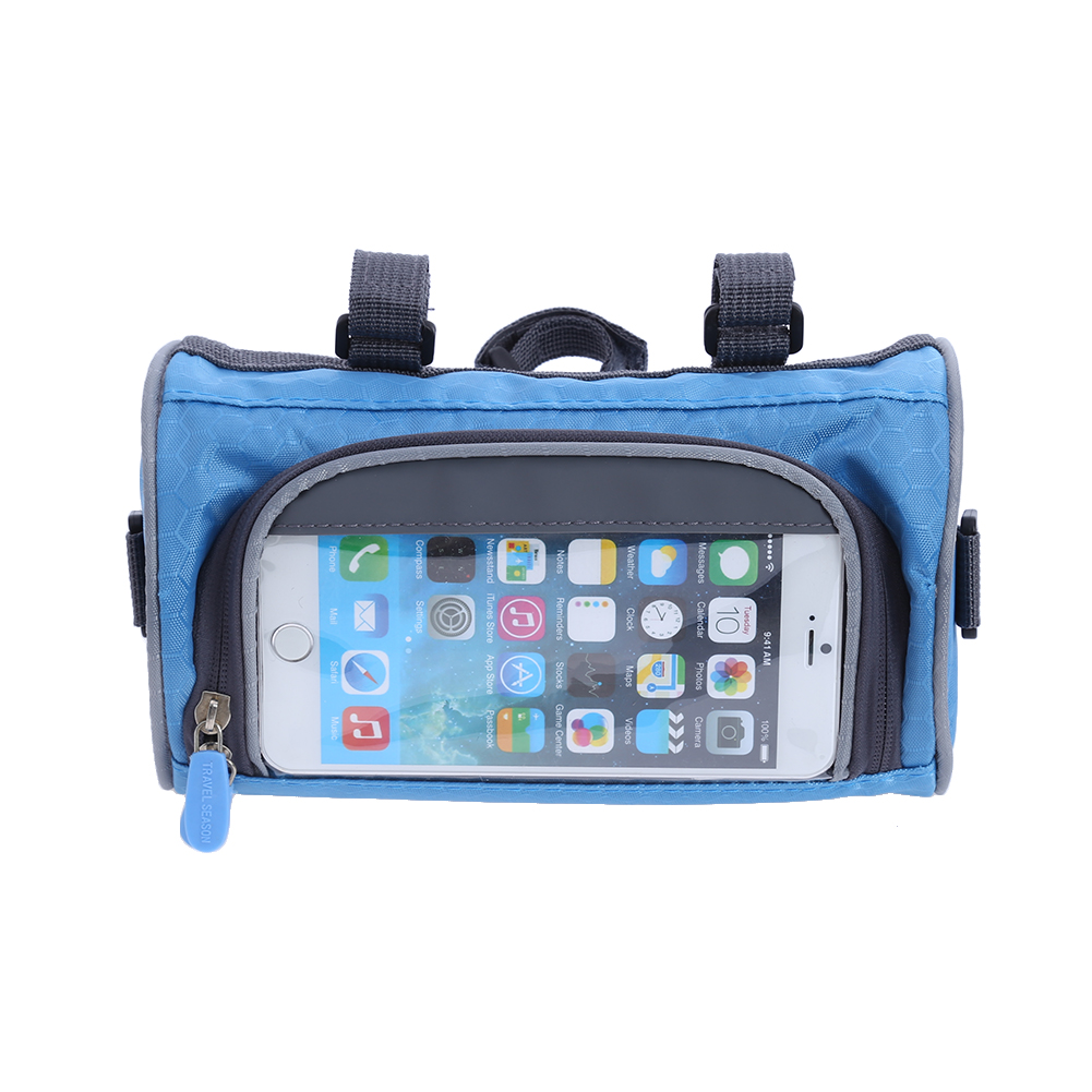 Road Bicycle Bike Bags Rainproof Touch Screen Cycling Top Front Tube ...