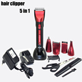 5 in 1 Waterproof Electric trimmer for men professional hair clipper trimer for philips beard trimmer hair accessories KM-8058