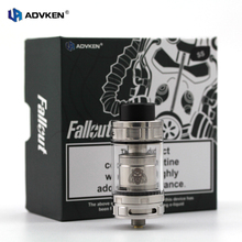 Advken 100% Authentic Top Filling Vape Tank Atomizer Fallout RBTA in 4ml come with Building Deck and Quardrupple Coil Head