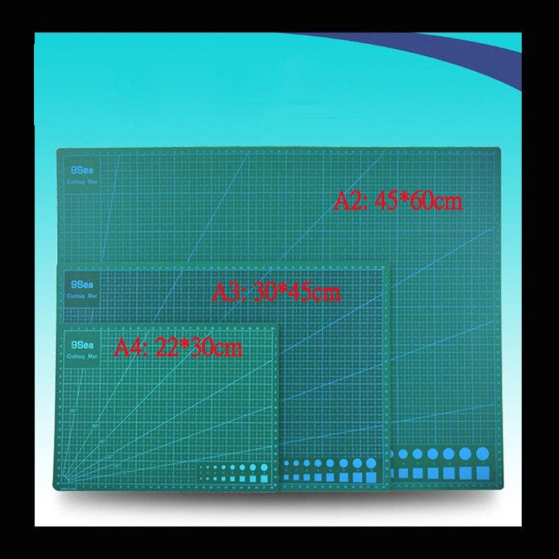 A2 ПВХ коврик для резки Самоисцеления коврик для резки лоскутное инструменты Ремесло Разделочная Доска разделочная коврики для квилтинга