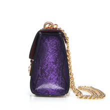 Mini Flap luxury handbags Women Bag Women's Handbag Hand Bag Ladies PU Leather Serpentin Crossbody Bag
