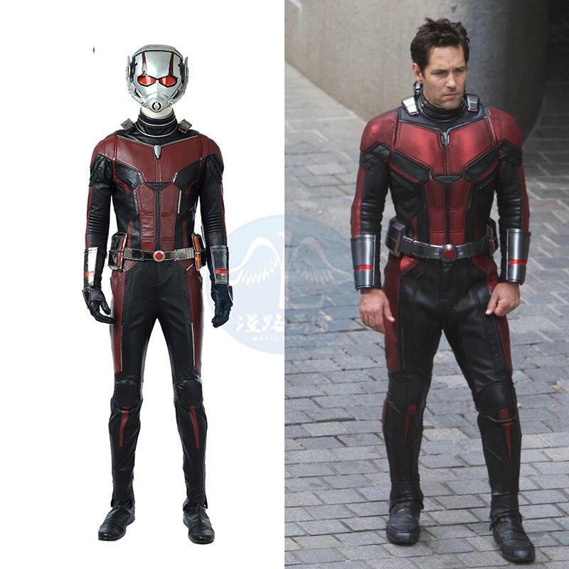Avenger: Endgame Cosplay Ant-Man Costume Scott Edward Harris Lang Cosplay Costume Halloween Cosplay Antman Superhero Jumpsuit