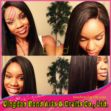 8A Grade 100% Virgin Full Lace Human Hair Wigs Malaysian straight Glueless Lace Front Wig For Black Woman 130% Density