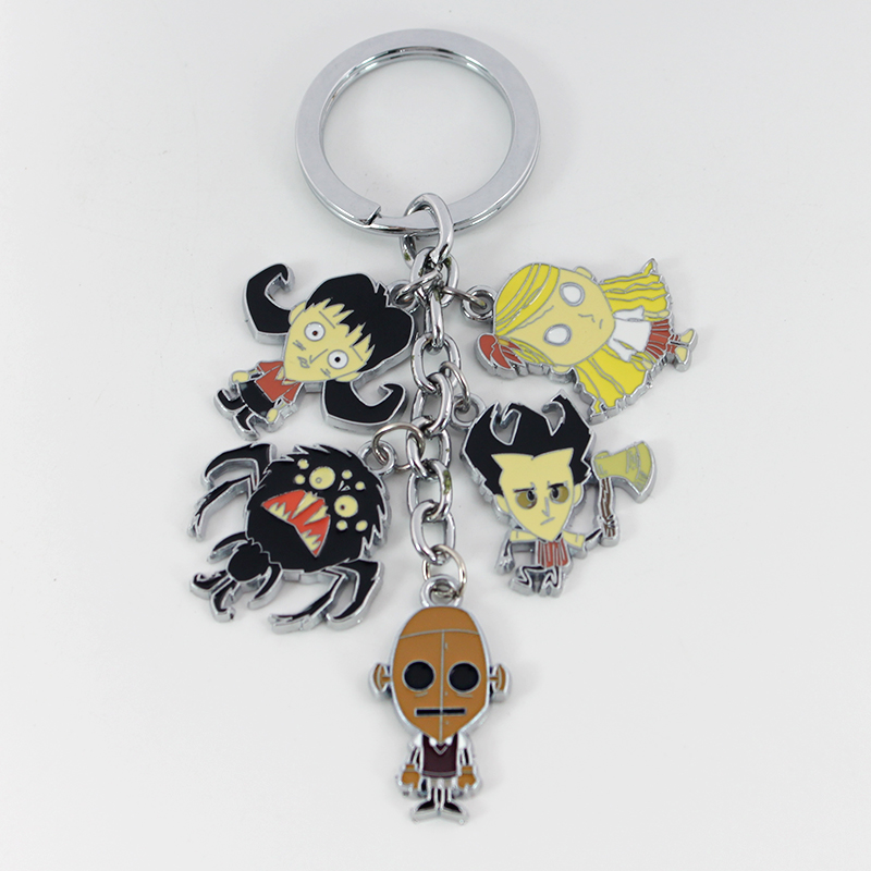 Don't Starve Do Not Starve Cosplay Figures Charms Key Chains Wilson Phone Strap Trinkets Accessories Keychain