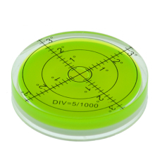 60*12 мм круглый пузырь Уровень Дух Уровень круглый пузырьковый уровень измерительные инструменты инструмент универсальный транспортир инструмент