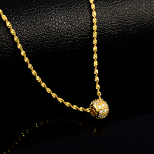 gold color necklace jewelry female fashion round charm pendant necklace for women water wave chain necklaces zchlgr bohomian smiley face necklace women round pendant necklace for women metal gold color sequins jewelry