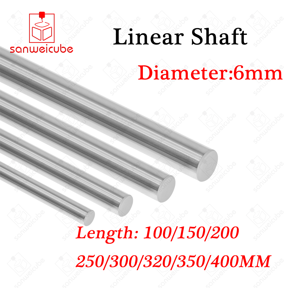 Outer Diameter OD 13mm x 300mm Cylinder Liner Rail Linear Shaft Optical Axis