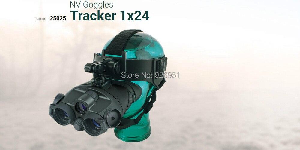 Original Yukon 25025 infrared night vision binocular goggles 1x24 night vision Head mount night vision for