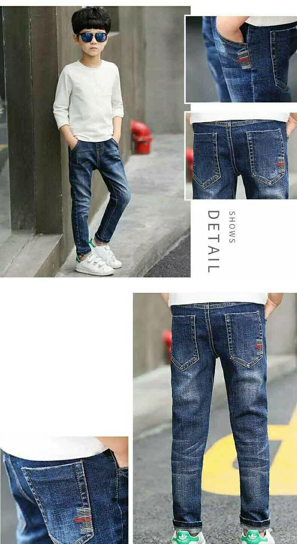 HTB1r0xOXzDuK1RjSszdq6xGLpXa3 - Autumn Spring Baby Boys Jeans Pants Kids Clothes Cotton Casual Children Trousers Teenager Denim Boys Clothes 4-14Year
