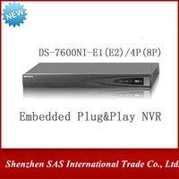 Hikvision NVR DS 7608NI E2/8 P 8CH 8POE DS 7616NI E2/16 P 16CH 16POE для IP Камера 6MP Запись 2 SATA сети видео Регистраторы