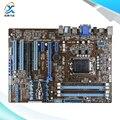 Para asus p8z77-v lx original usado madre de escritorio de intel z77 Socket LGA 1155 Para i3 i5 i7 DDR3 32G SATA3 USB3.0 ATX