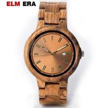 relogio masculino militar wooden men's watch clock gift reloj hombre 2018 men