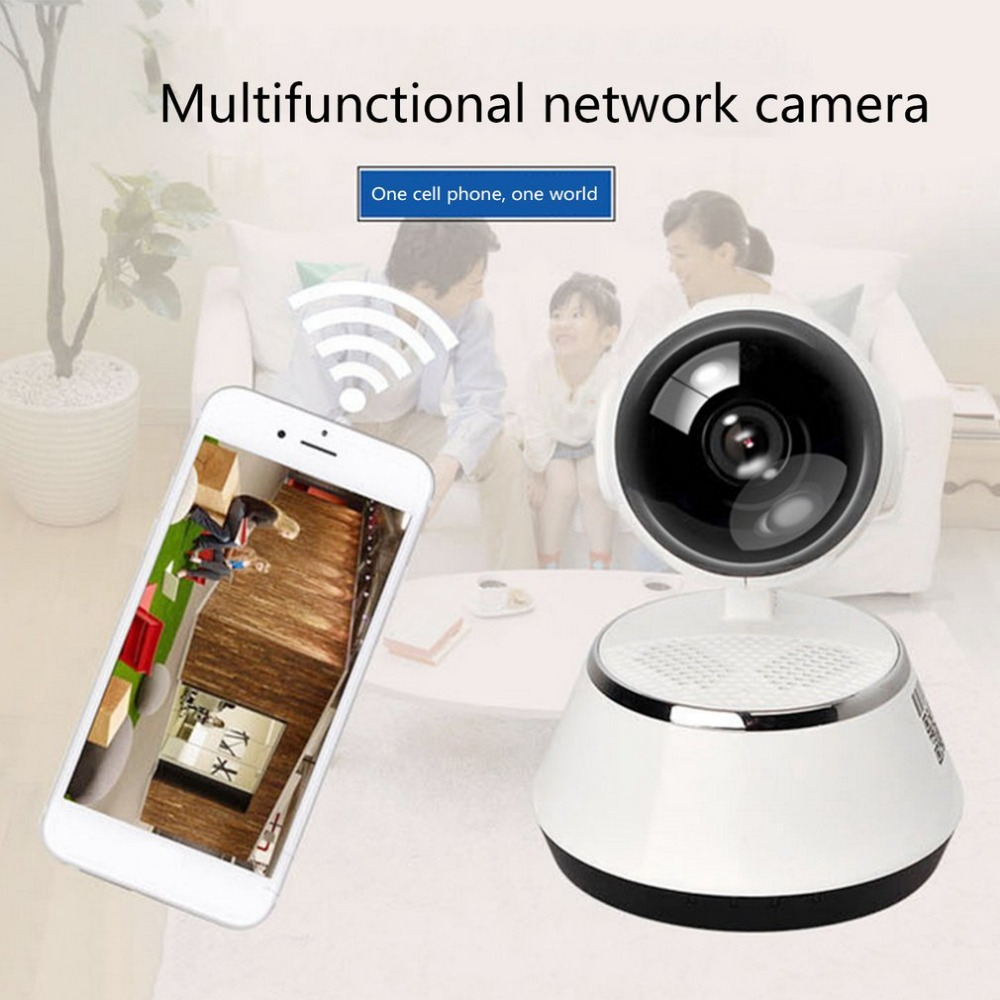 цена на Wireless Camera 720P HD Intelligent Network WiFi Remote Control Monitor Surveillance Camera Home Security Night Vision