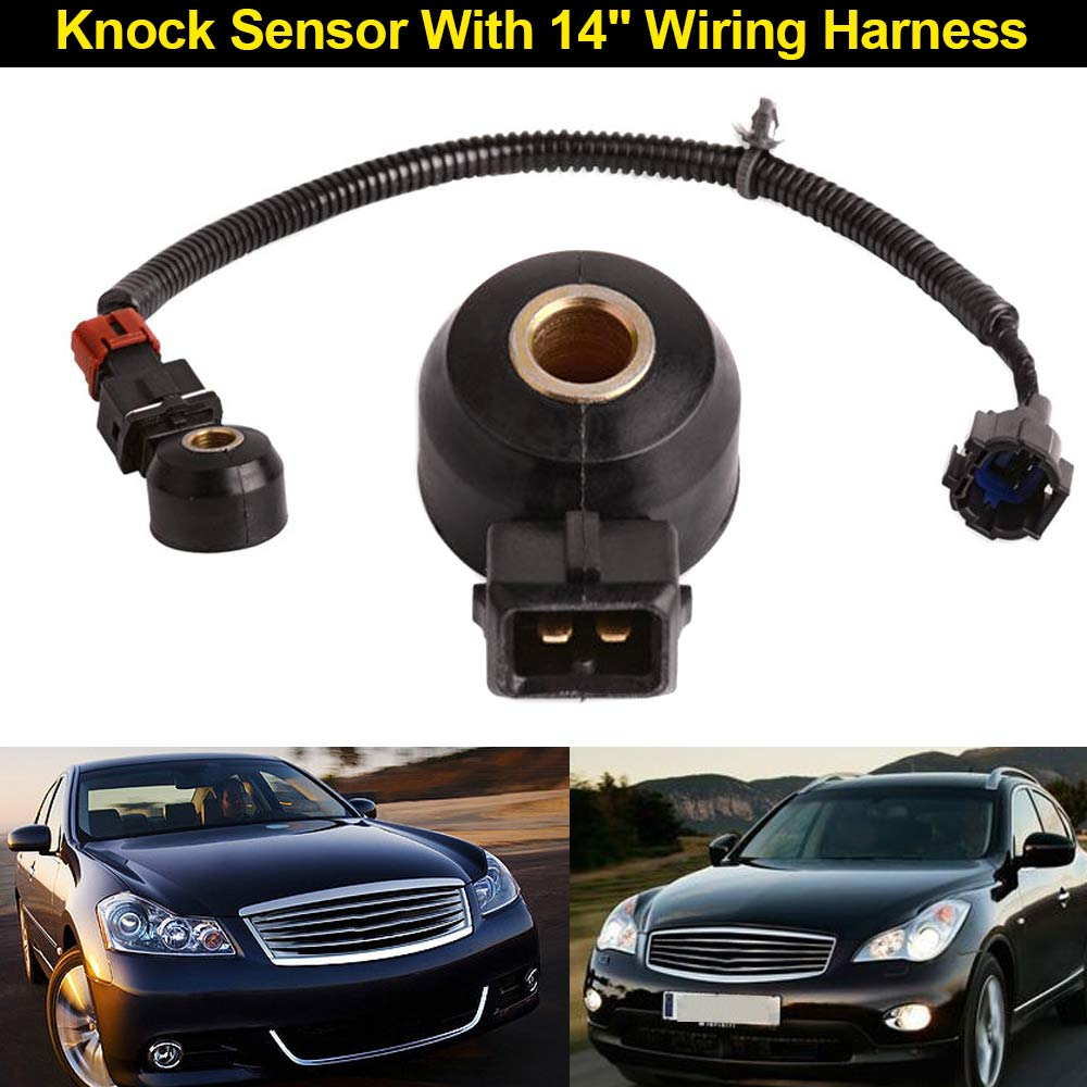 Car Styling Knock Sensor With 14 Wiring Harness For Infiniti Nissan Mercury 22060 30p00 Csl2017 In Detonation From Automobiles Motorcycles On