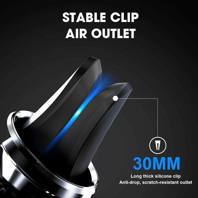H&A Car Phone Holder Stand For Samsung S9 S8 Magnetic Mobile Phone Holder For iPhone XS MAX XR Air Vent GPS Universal Holder