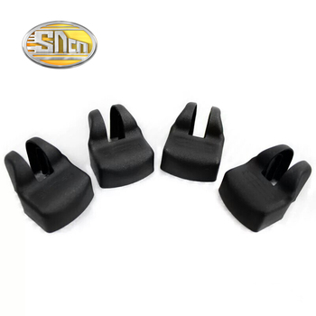 4pcs For Toyota Sequoia Sienna Alphard GT86 Door Limiting Stopper Cover Case Waterproof Rust-proof Auto Accessories Car-styling image