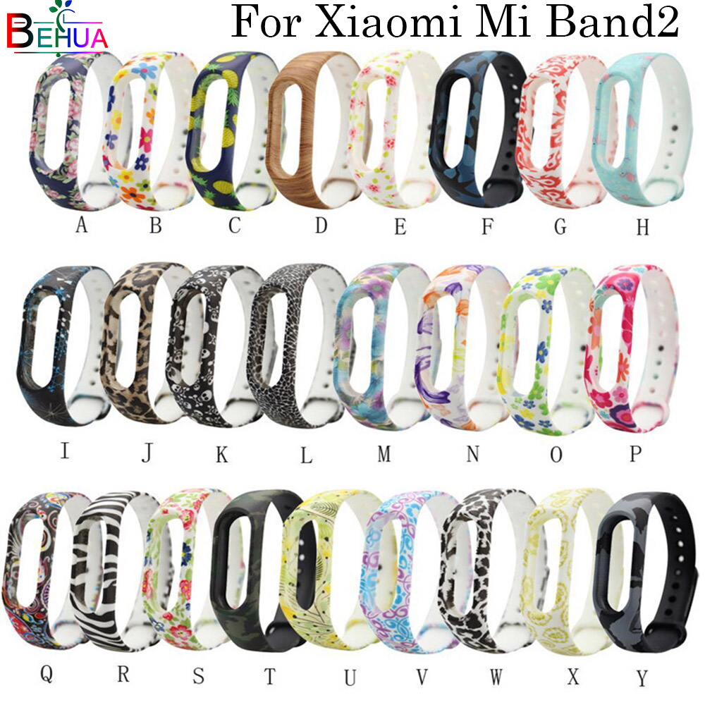 Multiple Colour For Xiaomi Mi Band 2 Watch Band Wristband Replacement For Xiaomi Miband 2 Smart Watch Silicone Bracelet Steaps