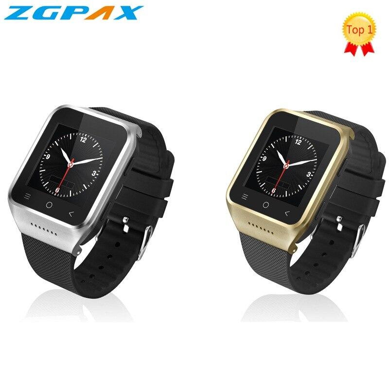 Original S8 Smart watch Bluetooth SmartWatch GPS Android 4.4 MTK6572 Dual Core 2.0MP Camera WiFi Smart-watch PK Q18 men watches цена