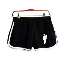 2019 New print singer Billie Eilish Women Clohtes Hot Sale Casual Harajuku Ladies Hot Sale Sexy Shorts Fashion Plus Size