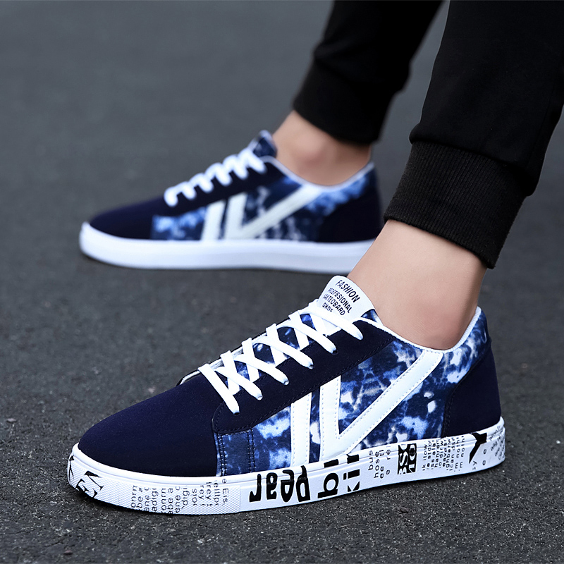 Fashion New Men Casual Shoes Man Breathable Personality Male Summer Canvas shoes Zapatos Hombre Krasovki Tenis Masculino Adulto 2018 new spring summer fashion man light casual shoes men s walking shoes male outdoor comfortable breathable men shoes krasovki