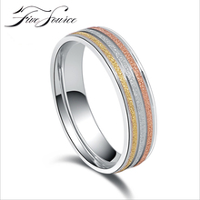Korean Fashion Female Tail Ring Finger Titanium Steel Colorful Wedding Rings For Women  Ring Girl Bague Femme Fashion jewelry