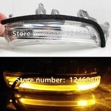 Внешний зеркальный светодиодный ретранслятор сигнала поворота, светильник для Toyota CAMRY PRIUS, eiz, WISH, MARK X, CROWN, AVALON 2009-2013 IQ EQ EV